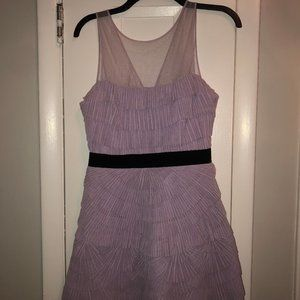 Never Worn BCBG Lavender Mini Dress